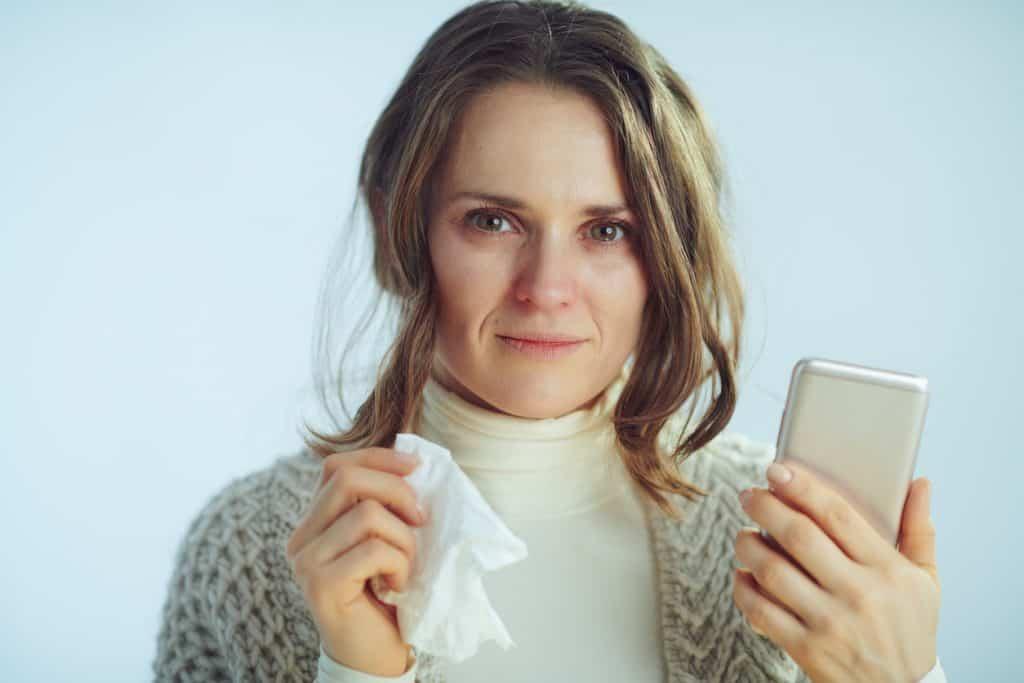 Smartphone e conatgio